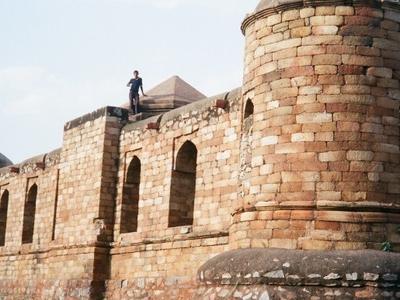 Westside View Of  Sultan  Garhi
