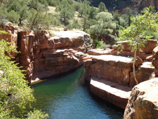 Wet Beaver Creek In Coconino National Forest