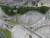 Closer Aerial View Of White Cyclone