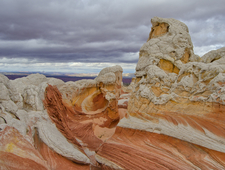Rock Formations In The White Pocket