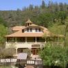 Wilbur Hot Springs Front Of Lodge