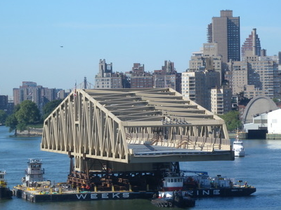 Bridge Sails Up