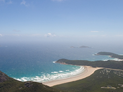 Tidal River As Viewed From The Summit