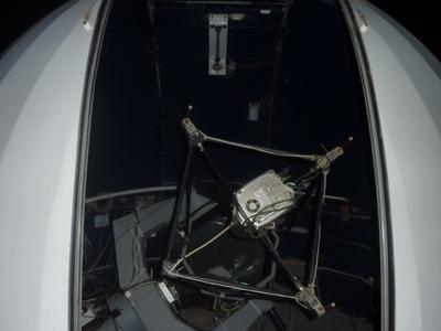 Smaller 46cm Telescope In Its Dome