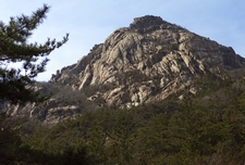 Wolchulsan Mountain Peak