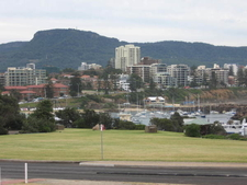 Overlooking North Wollongong To Mount Keira