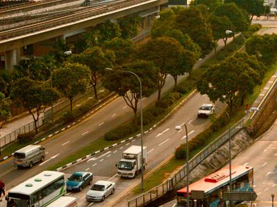 View Of Woodlands MRT
