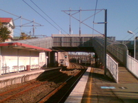 Wooloowin la estación de tren