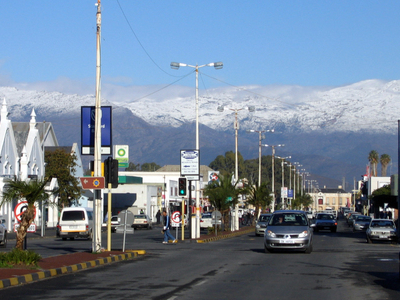 High Street In The Worcester CBD