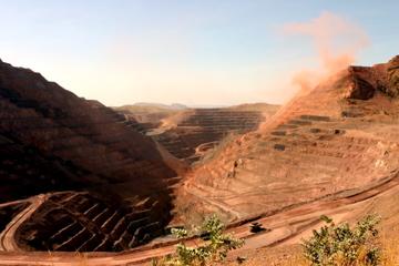 The Open Pit Of The Argyle Diamond Mine