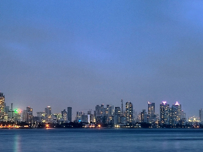 Worli Skyline From Bandra