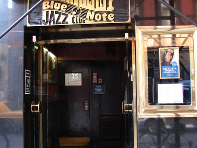Entrance Of Blue Note Jazz Club