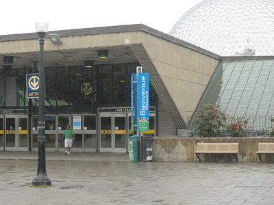 Jean Drapeau Station Kiosk
