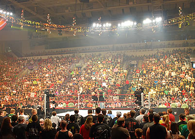 WWE Raw At Resch Center