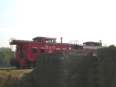 Train Along Whitewater Canal
