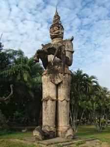 Xieng Khuan Buddha Park, Vientiane Prefecture