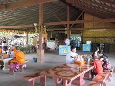 Xiengkuana Buddha Park Laos Canteen