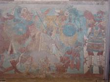 Xochitecatl Mural - Tlaxcala - Mexico