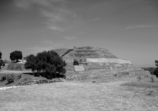 Xochitecatl Ruins B&W - Tlaxcala - Mexico