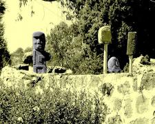Xochitecatl Ruins Sculptures - Tlaxcala - Mexico
