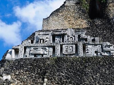 Xunantunich Mayan Temple In Belize