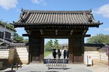 Yakushiji Temple Gate