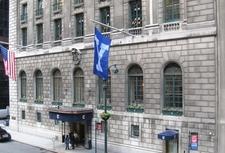 The Yale Club's Main Entrance