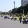 Yamashita Park And Yokohama Marine Tower