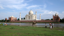 Yamuna & The Taj Mahal