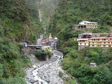 Yamunotri Temple And Ashrams