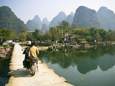 Yanhshuo - Li River - Old China