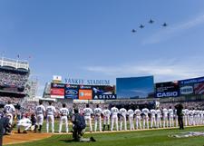 Yankee Stadium On Opening Day