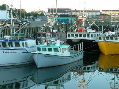 Fishing Boats In Yarmouth