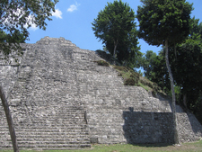 Yaxha Temple At Petén Department - Guatemala