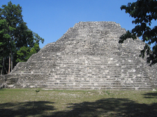 Yaxha Temple - Petén Department - Guatemala