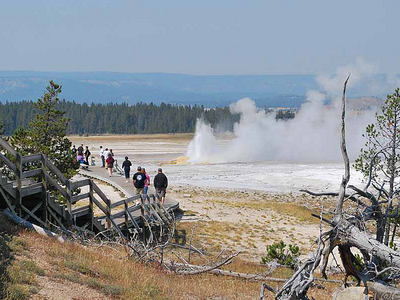 Yellowstone Fountain Paint Pot Area