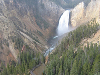 Yellowstone Lookout Point