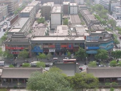 Aerial View Of Yinchuan