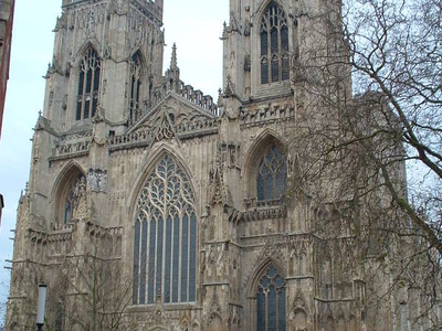 The Minster's Western Front
