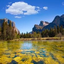 Yosemite River CA