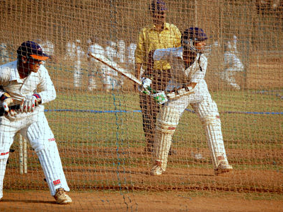 Cricket Training At Shivaji Park