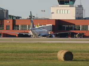 Regina Internacional. Aeropuerto