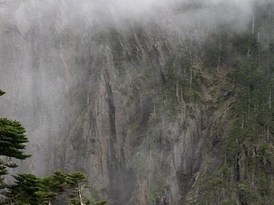 Sea Of Clouds Near Tatajia Anbu On Yushan Trail