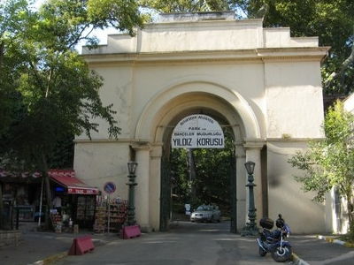 Main Entrance To Yıldız Park