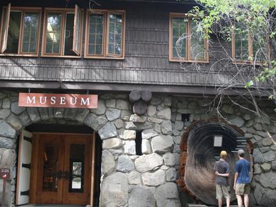 Exterior Of Yosemite Museum