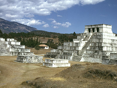 Zaculeu - Huehuetenango Department - Guatemala
