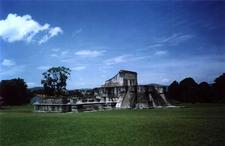 Zaculeu Palace Temple - Huehuetenango Department - Guatemala