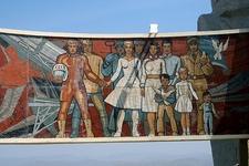 Zaisan Memorial Mural Detail - Ulan Bator