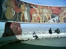 Zaisan Mural At Viewpoint
