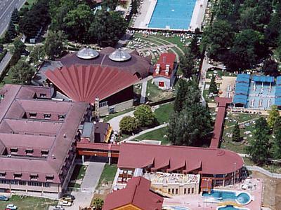 Aerial Photograph Of Zalakaros Town